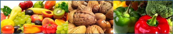Groente, fruit en noten