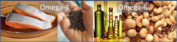 Balans omega-3 en omega-6 vetzuren
